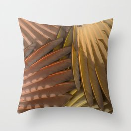 Northern Flicker Wings Throw Pillow
