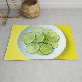 Lustrous Lime Rug