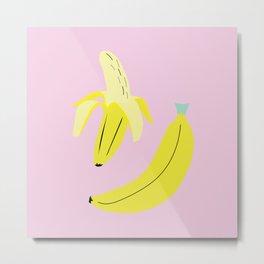 Banana Cutie Metal Print