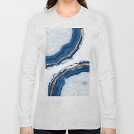 Agate Glitter Glam #15 #gem #decor #art #society6 Long Sleeve T-shirt