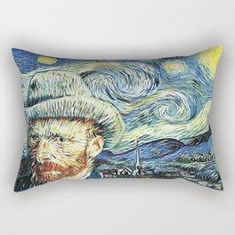 Starry Night Art Van Gogh Rectangular Pillow