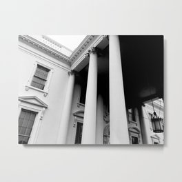 Obama Era White House Metal Print
