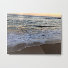 Beautiful water at Collaroy Beach, NSW, Australia Metal Print