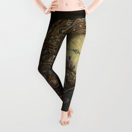 Steampunk Clocks Leggings