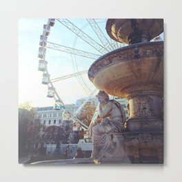 Angel of Budapest Metal Print