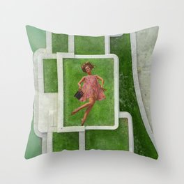 fall down Throw Pillow