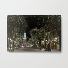 Church Street, Burlington Vermont Metal Print