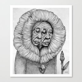 The Shawoman Canvas Print