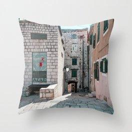 Sibenik 1.4 Throw Pillow