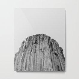 Devil's Tower Metal Print