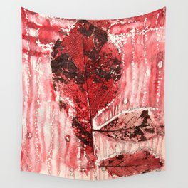 Bloody Leaf 2 Wall Tapestry