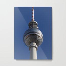 Berlin Fernsehturm Metal Print
