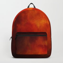 Paradise Fire - Memorial - Fire In The Sky - Clouds Of Fire Backpack
