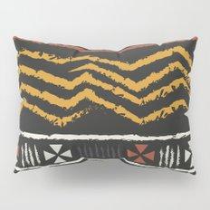 African Tribal Pattern No. 84 Pillow Sham
