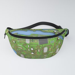 Data Earth Fanny Pack