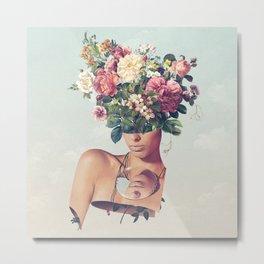 Flower-ism Metal Print