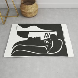 Pablo Picasso Kiss 1979 Artwork Reproduction For T Shirt, Framed Prints Rug