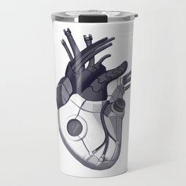 Cyberpunk heart Travel Mug