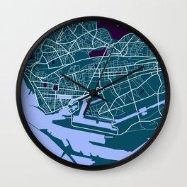 Le Havre - Port & Ville Wall Clock