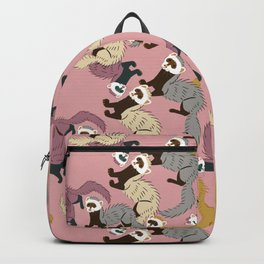 Mustelids are the best antidepressants #4 Backpack