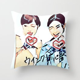 Insta 2 Throw Pillow