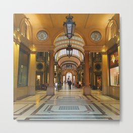 Galleria San Federico Metal Print