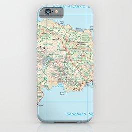 The Dominican Republic - República Dominicana - Hispaniola - Greater Antilles - Caribbean  4 iPhone Case