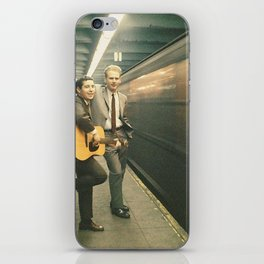 simon and garfunkel - wednesday morning, 3am - iPhone Skin