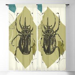 Beetle colors Blackout Curtain