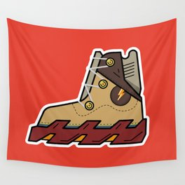 Robo Style Snickers Wall Tapestry