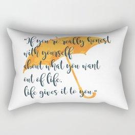 Honest Rectangular Pillow