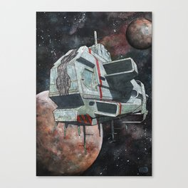 Spaceship N2 Canvas Print