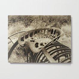 Farmer's seat Metal Print