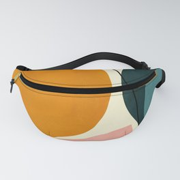 shapes geometric minimal painting abstract Fanny Pack