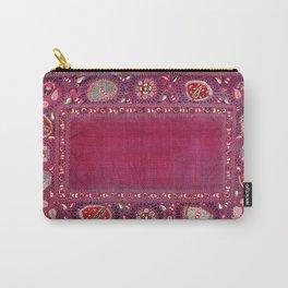 Shakhrisyabz  Southwest Uzbekistan Suzani Embroidery Print Carry-All Pouch