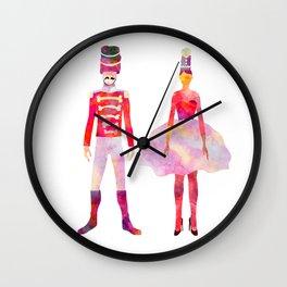 Nutcracker Ballet Wall Clock
