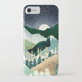 Spring Night Vista iPhone Case