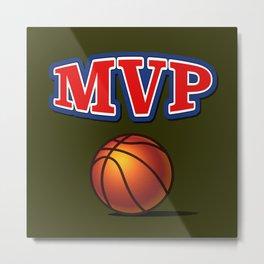 Most Valuable Player. Basket Metal Print