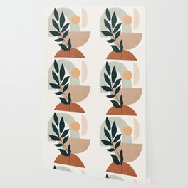 Soft Shapes IV Wallpaper