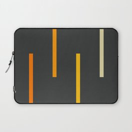 Abstract Minimal Retro Stripes Ashtanga Laptop Sleeve