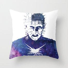 Galaxy Pinhead Doug Bradley Hellraiser Throw Pillow