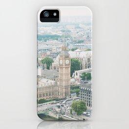 London Skyline Travel Photography iPhone Case