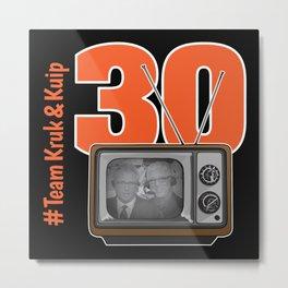 30 Years of Kruk & Kuip Metal Print