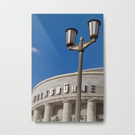 Volksbühne - theatre - Rosa-Luxemburg-Place - Berlin Metal Print