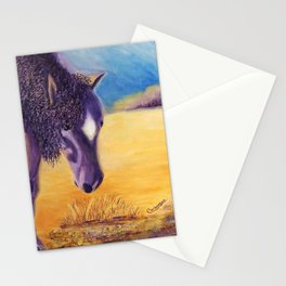 We graze | On broute Stationery Cards