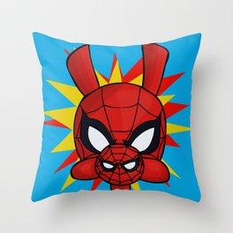 Spider-Ham Face Throw Pillow