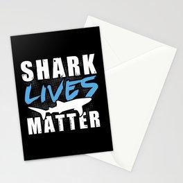 Shark Lives Matter Stationery Cards