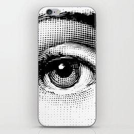Lina Cavalieri - right eye iPhone Skin