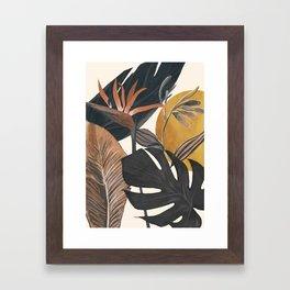 Abstract Tropical Art III Framed Art Print