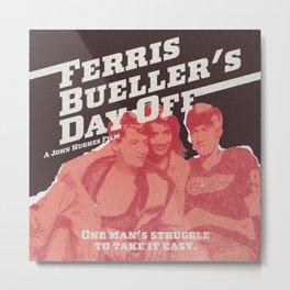 Ferris Bueller's Day Off Metal Print